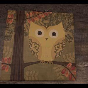 Target Owl Print